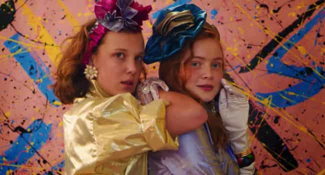 Girls Loved Taking Tacky Glamo... is listed (or ranked) 1 on the list All The Ways Starcourt Mall Took Us Straight Back To The '80s In 'Stranger Things 3'