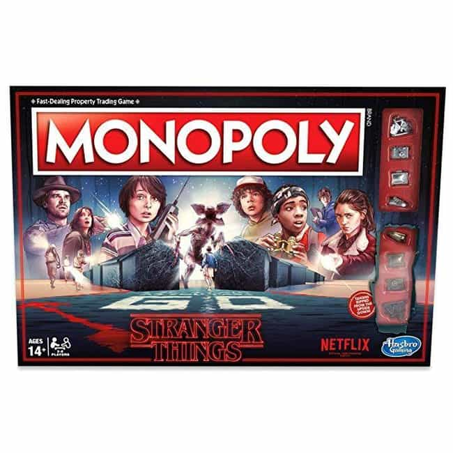 Monopoly Stranger Things Editi... is listed (or ranked) 4 on the list The 10 Best Stranger Things Games & Toys To Buy On Prime Day