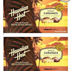 Hawaiian Host Maui Caramacs is listed (or ranked) 18 on the list The Coolest Candy From Hawaii