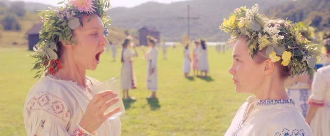 Dani Hallucinates Horrifying V is listed (or ranked) 2 on the list 'Midsommar' Is A Phantasmagoric Nightmare Of A Horror Movie