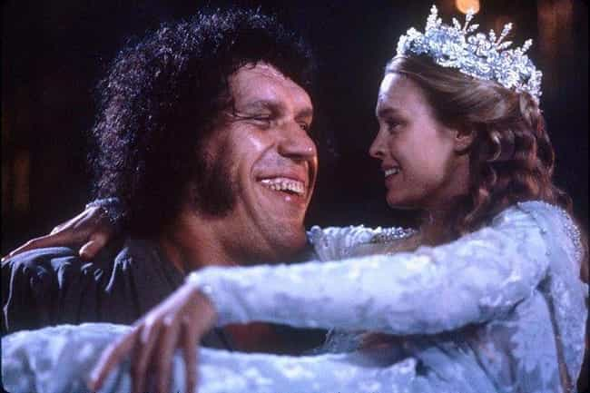 He Kept Robin Wright Warm By P... is listed (or ranked) 2 on the list Behind-The-Scenes Stories About André The Giant In 'The Princess Bride'