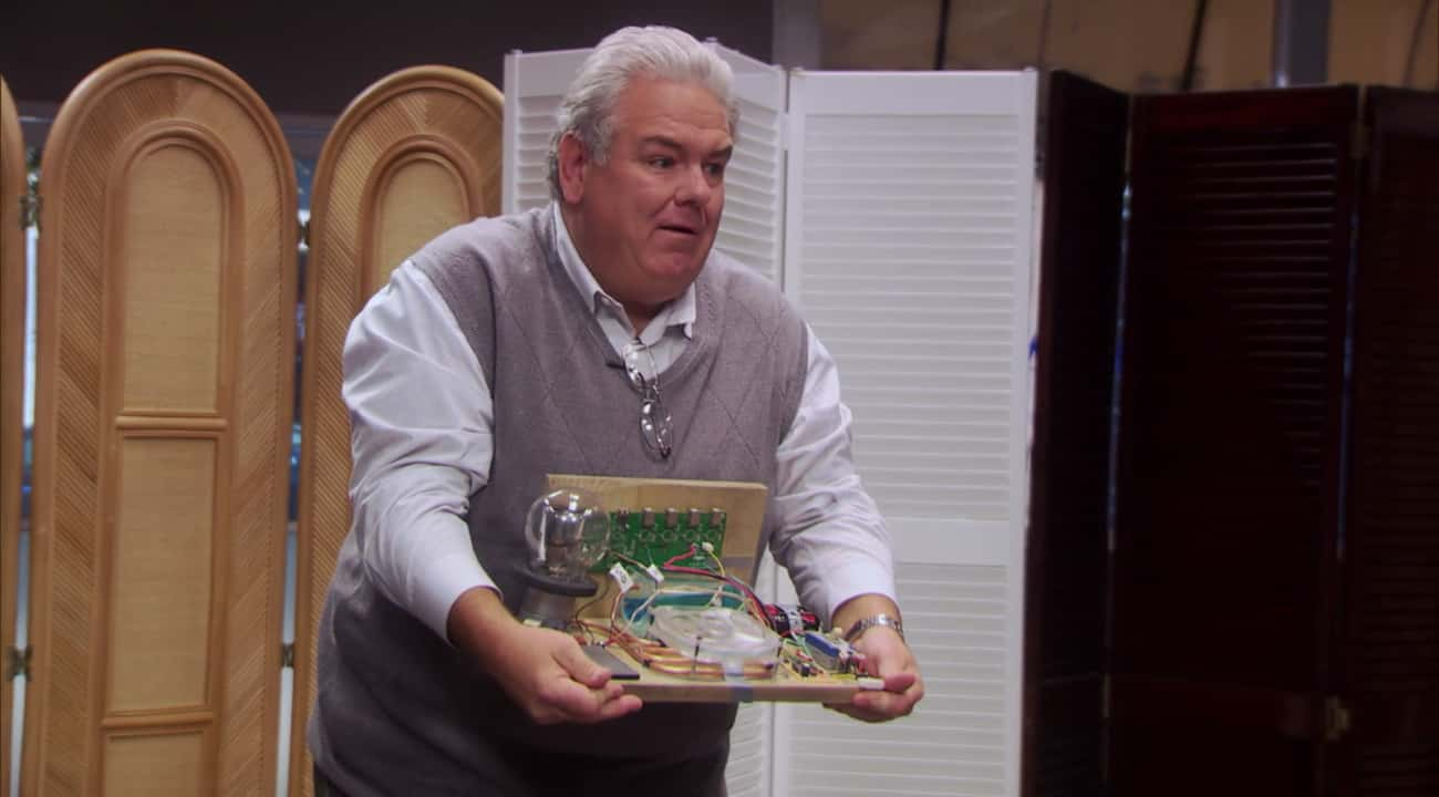 He Invented Renewable Clean En is listed (or ranked) 3 on the list 13 Reasons Jerry Is The Best Person In The World Of 'Parks and Rec'