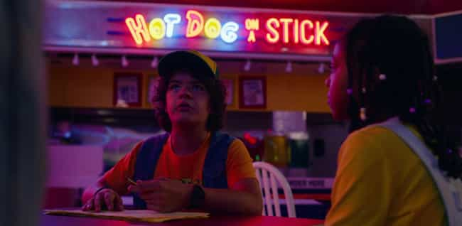 Lemonade From Hot Dog On A Sti... is listed (or ranked) 3 on the list All The Ways Starcourt Mall Took Us Straight Back To The '80s In 'Stranger Things 3'
