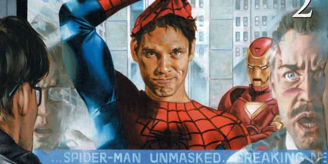 Spider-Man Supports The Superh... is listed (or ranked) 2 on the list What Happened After Spider-Man's Secret Identity Was Revealed In The 'Civil War' Comic