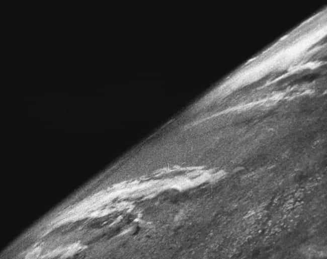 The First Image Of Earth... is listed (or ranked) 3 on the list 14 Fascinating Photos Of Historical Firsts