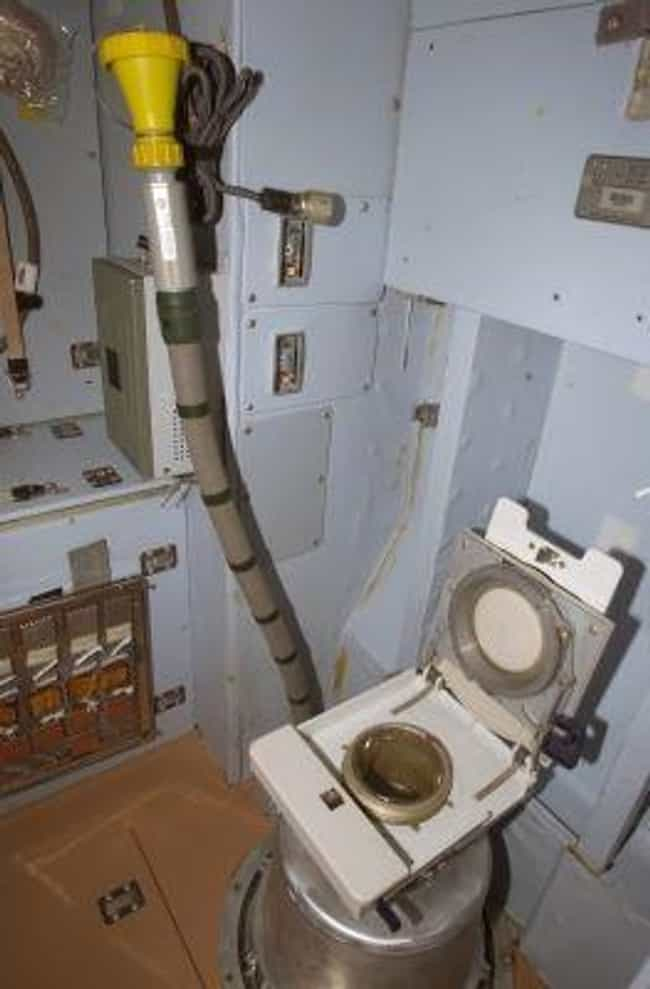 Using The Bathroom Requires L... is listed (or ranked) 2 on the list What Is Hygiene Like For Astronauts In Space?
