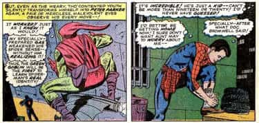 Green Goblin Discovers Spider- is listed (or ranked) 2 on the list All The Times Spider-Man's Secret Identity Has Been Revealed