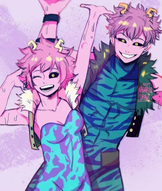 Mina Ashido is listed (or ranked) 3 on the list 25 Amazing Pieces of 'My Hero Academia' Genderbend Fan Art
