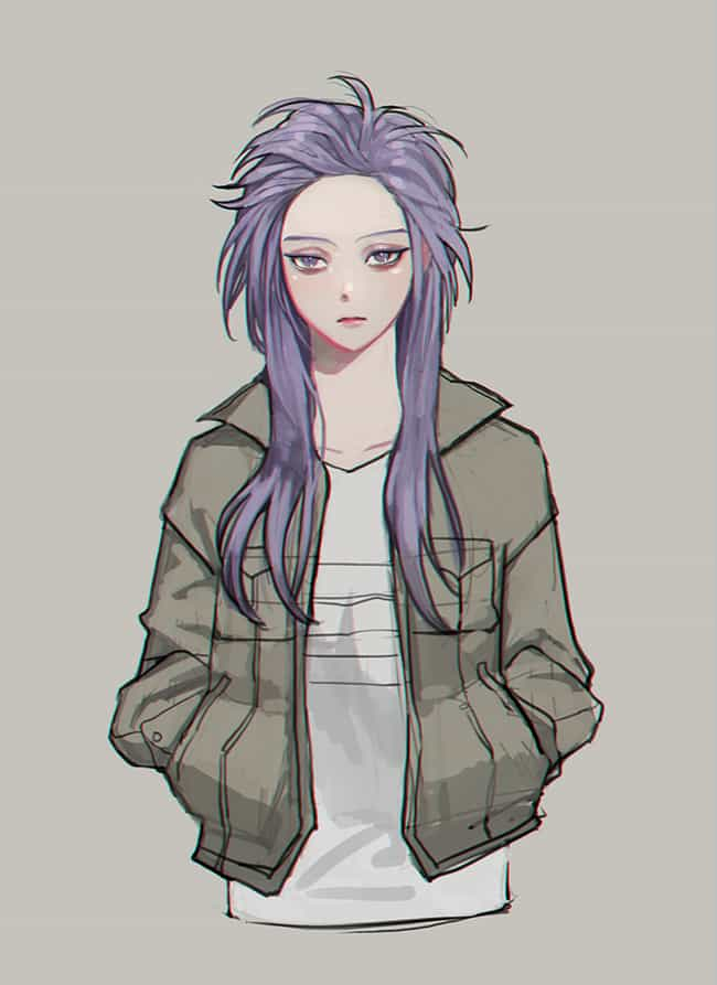 Hitoshi Shinso is listed (or ranked) 4 on the list 25 Amazing Pieces of 'My Hero Academia' Genderbend Fan Art