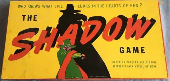 The Shadow Game (1940) is listed (or ranked) 4 on the list The Most Valuable Board Games That Could Be Gathering Dust In A Closet