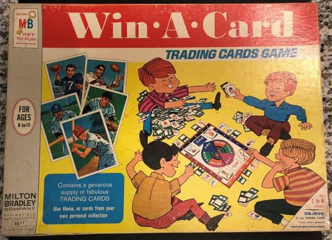 Win-A-Card (1969) is listed (or ranked) 3 on the list The Most Valuable Board Games That Could Be Gathering Dust In A Closet