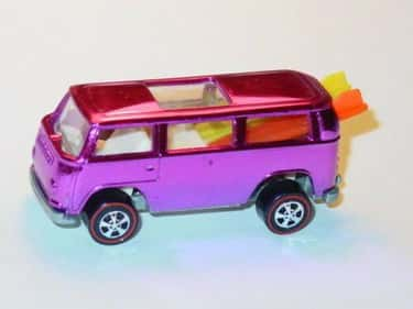 Pink Rear-Loading Volkswagen B is listed (or ranked) 2 on the list The Most Valuable Hot Wheels Cars