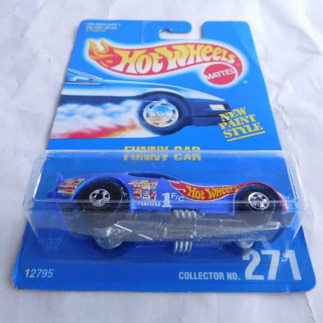 Funny Car Collector No. 271 (1... is listed (or ranked) 4 on the list The Most Valuable Hot Wheels Cars