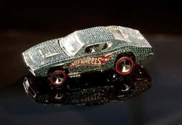 Diamond-Encrusted Custom Otto  is listed (or ranked) 1 on the list The Most Valuable Hot Wheels Cars