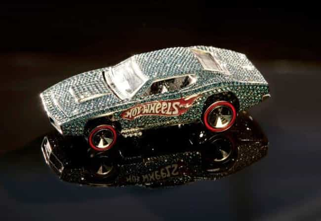 Diamond-Encrusted Custom Otto ... is listed (or ranked) 1 on the list The Most Valuable Hot Wheels Cars