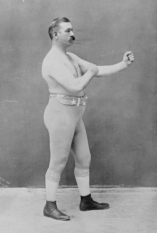A Boxing Champ, C. 1898 is listed (or ranked) 1 on the list 21 Historical Photos That Show How Working Out Has Changed Over Time