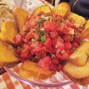 Bruschetta is listed (or ranked) 15 on the list The Best Things To Eat At Buca di Beppo