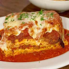 Lasagna is listed (or ranked) 2 on the list The Best Things To Eat At Buca di Beppo