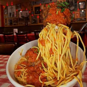 Spaghetti with Meatballs is listed (or ranked) 5 on the list The Best Things To Eat At Buca di Beppo