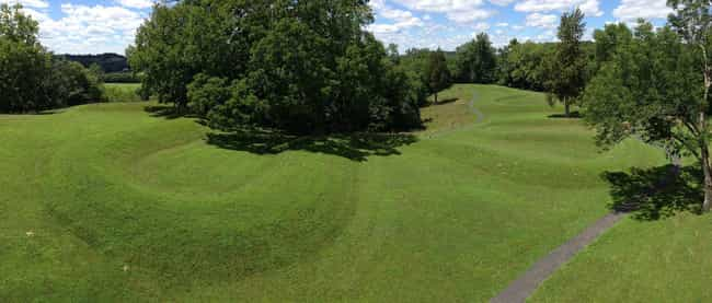 Its Sophisticated, Layered Con... is listed (or ranked) 4 on the list What Is The Mysterious Serpent Mound In Ohio, And How Did It Get There?