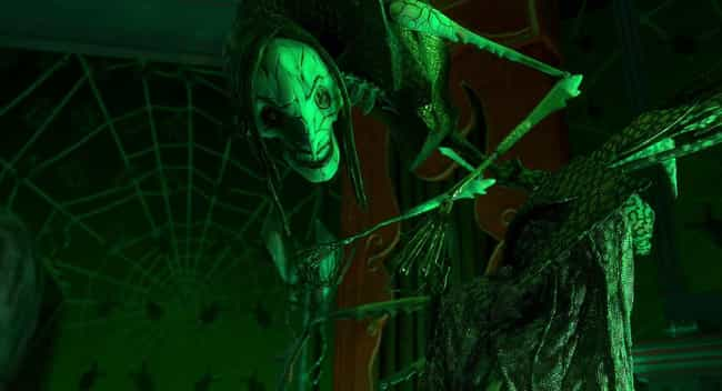 The Monstrous Beldam Is ... is listed (or ranked) 1 on the list 'Coraline' Is A Stop-Motion Nightmare That Still Chills Us If We Think About It Too Long