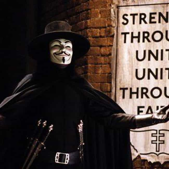 Call Me V is listed (or ranked) 1 on the list The Most Eloquent Quotes From 'V for Vendetta'