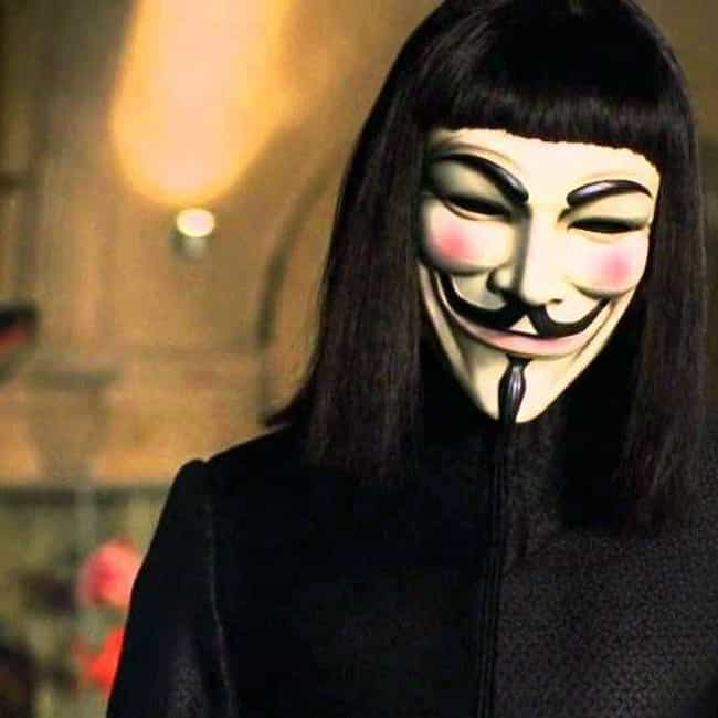 Do Not Play is listed (or ranked) 4 on the list The Most Eloquent Quotes From 'V for Vendetta'