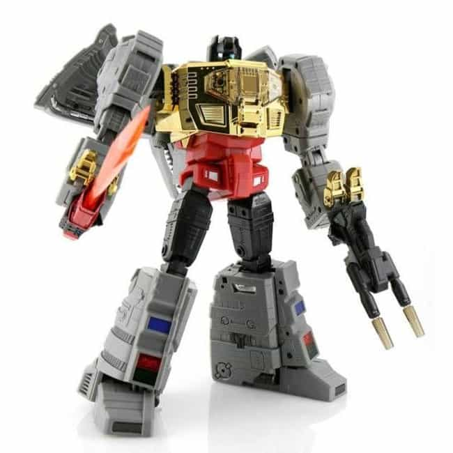 Fanstoys Grinder is listed (or ranked) 1 on the list The Best Grimlock Toys, Ranked