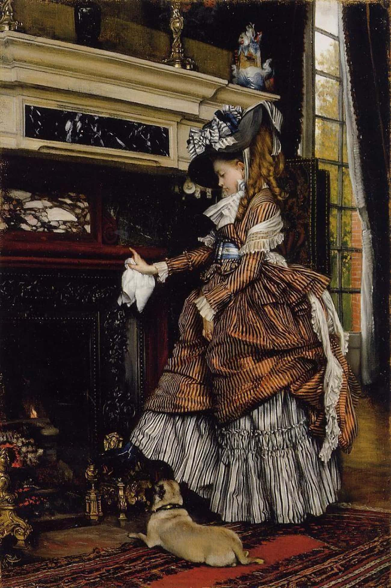 Crinolines Were A Fire Hazard  is listed (or ranked) 1 on the list What Was The Deal With Those Giant Victorian Skirts?