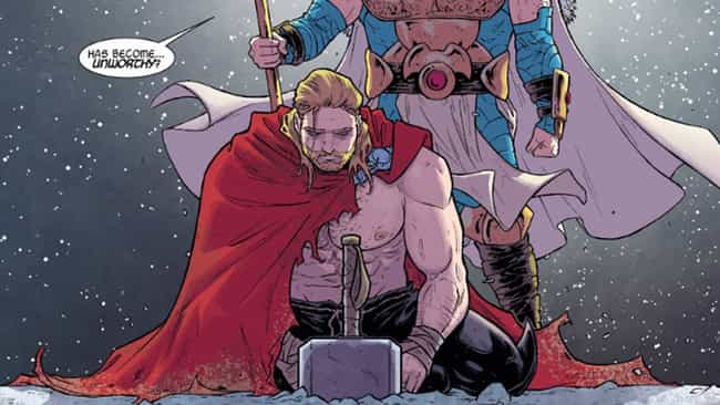 Foster Becomes Earth's Ambassa... is listed (or ranked) 3 on the list How Jane Foster Becomes Thor - And What She Does As A God