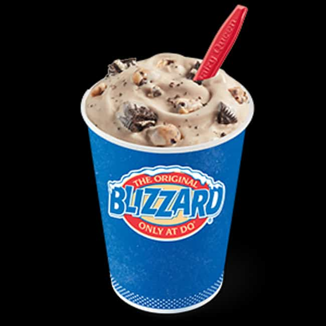 Oreo Cookie Jar Blizzard... is listed (or ranked) 1 on the list The Most Delicious Blizzards At Dairy Queen