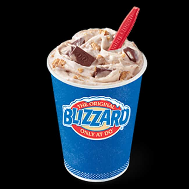 S'mores Blizzard Treat ... is listed (or ranked) 2 on the list The Most Delicious Blizzards At Dairy Queen