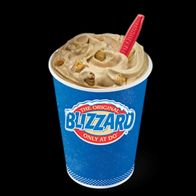 Chocolate Chip Cookie Do... is listed (or ranked) 3 on the list The Most Delicious Blizzards At Dairy Queen