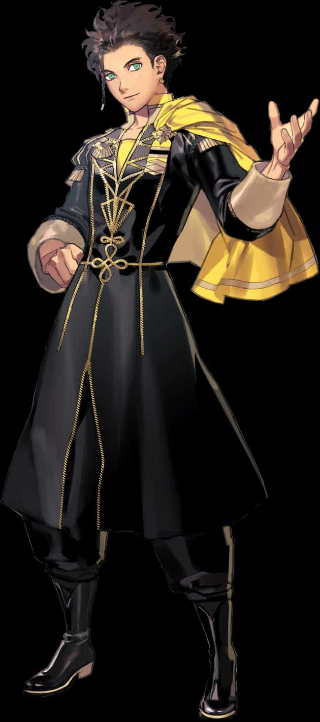 Claude is listed (or ranked) 1 on the list The Best 'Fire Emblem: Three Houses' Characters