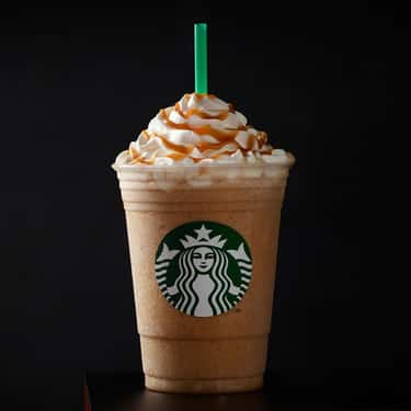 Caramel Frappuccino Blended Coffee