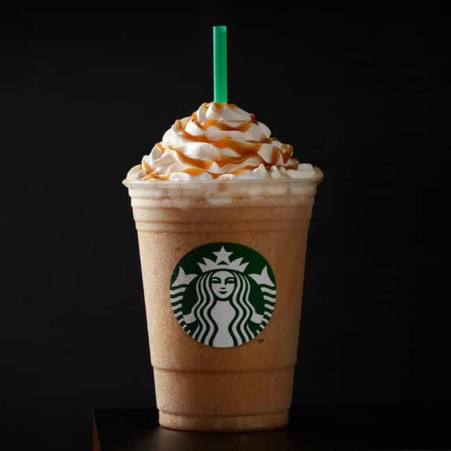 Caramel Frappuccino Blended Co... is listed (or ranked) 4 on the list The Best Frappuccino Flavors At Starbucks