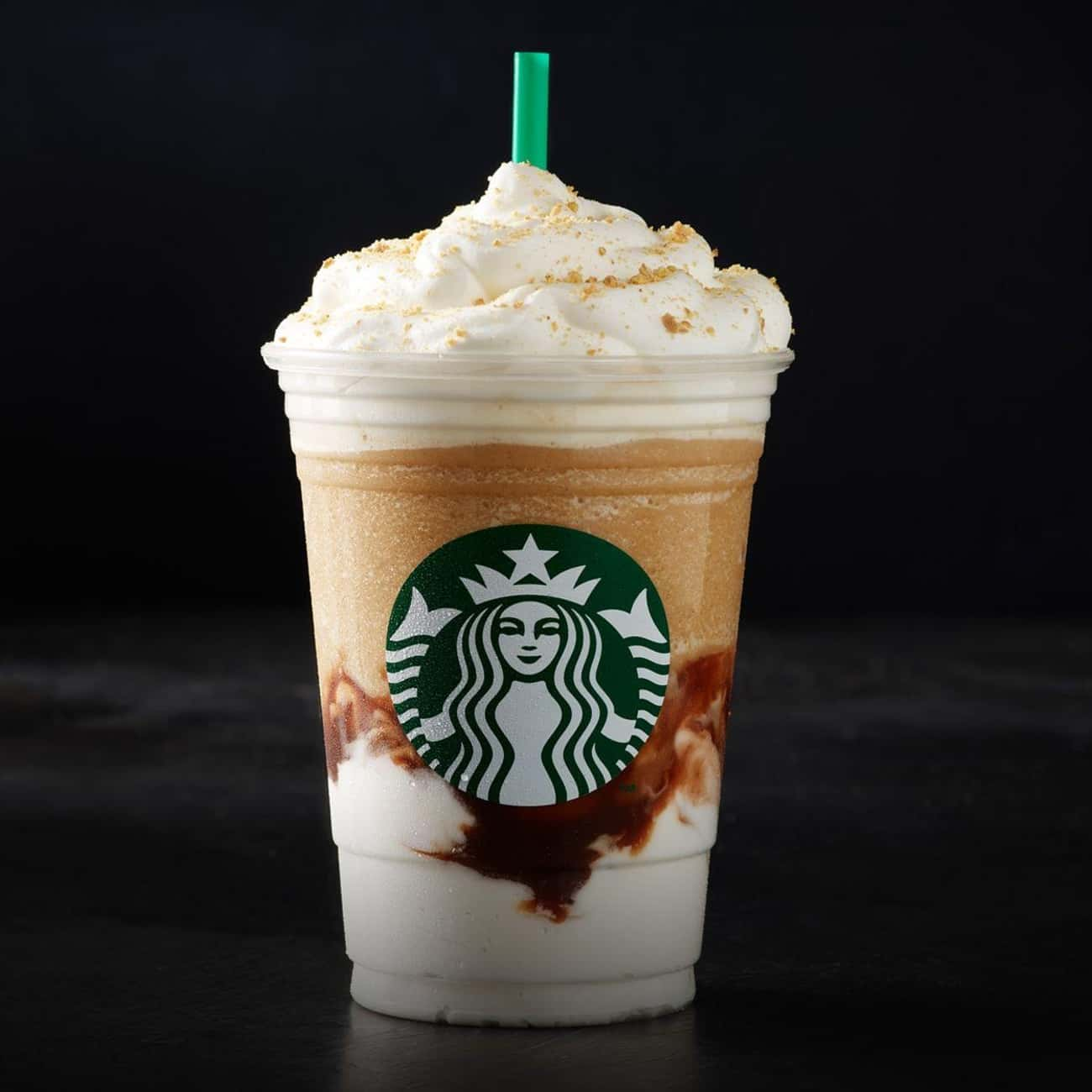 S'mores Crème Frappuccino is listed (or ranked) 4 on the list The Best Frappuccino Flavors At Starbucks