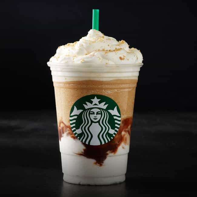 S'mores Crème Frappuccino is listed (or ranked) 1 on the list The Best Frappuccino Flavors At Starbucks