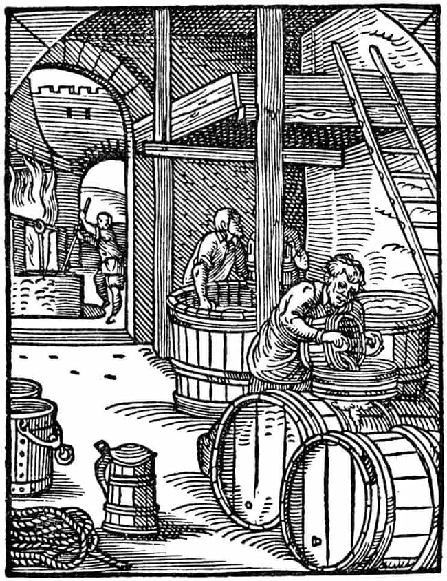 Medieval Beer Didn't Contain A... is listed (or ranked) 3 on the list Were Medieval People Really Drunk On Beer And Wine All The Time?