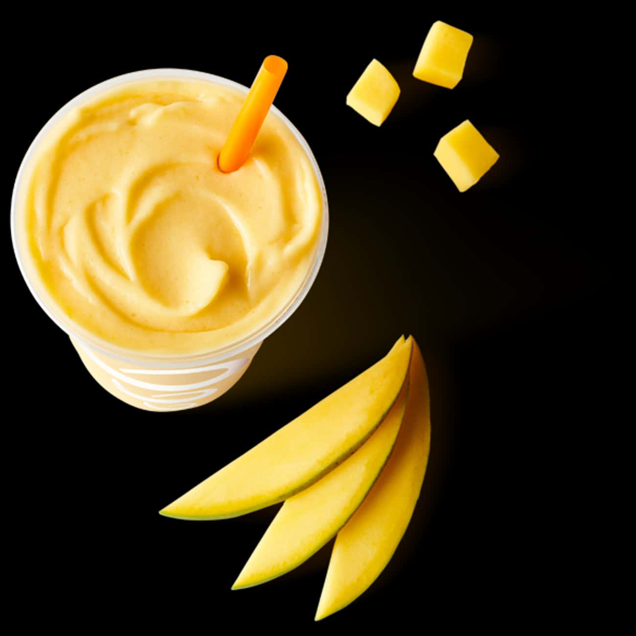 Mango-a-go-go is listed (or ranked) 4 on the list The Most Delicious Smoothies At Jamba Juice