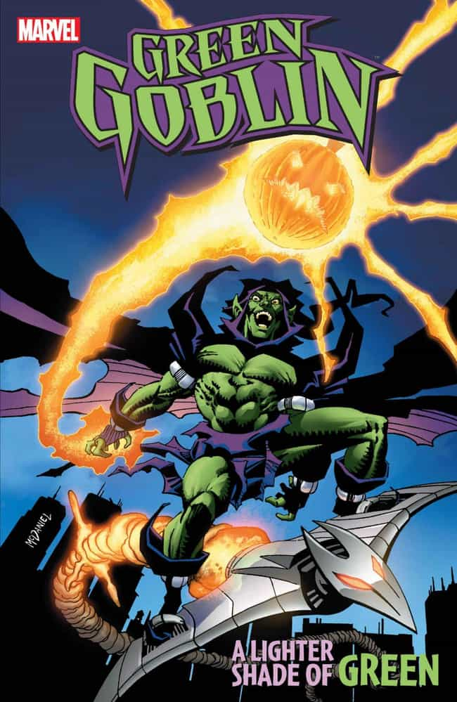 Green Goblin: A Lighter Shade ... is listed (or ranked) 3 on the list The Best Storylines Featuring The Green Goblin