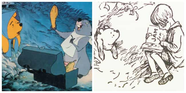 Disney Filmmakers Thought A.A.... is listed (or ranked) 2 on the list Disney's Winnie-the-Pooh Is Very Different From A.A. Milne's 'Classic Pooh' Book Version