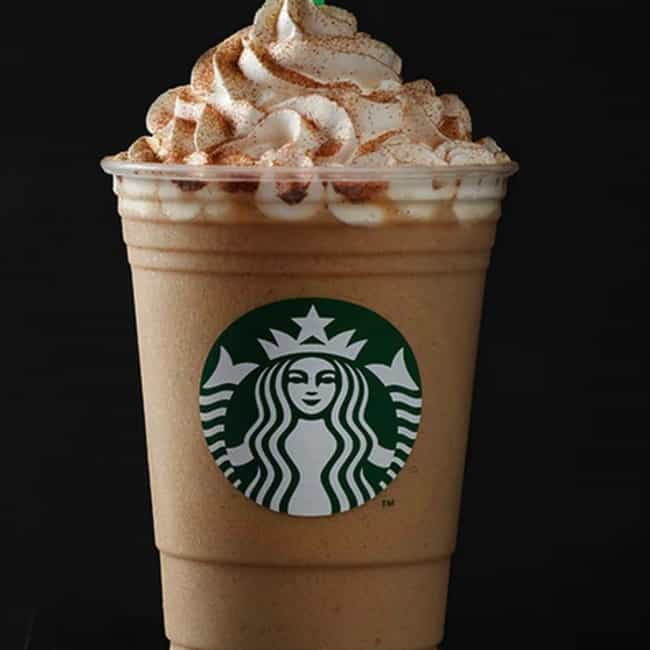 Pumpkin Spice Frappuccino is listed (or ranked) 2 on the list The Best Frappuccino Flavors At Starbucks