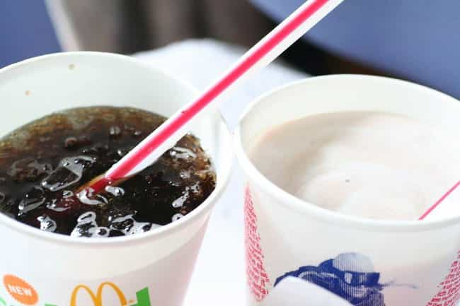 The Syrup-To-Water Ratio... is listed (or ranked) 4 on the list Why Does Coke At McDonald's Taste So Different?