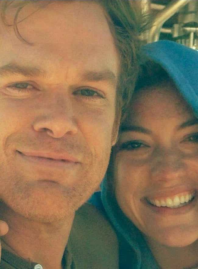 They Secretly Married In 2008 ... is listed (or ranked) 3 on the list Behind-The-Scenes Facts About Michael C. Hall And Jennifer Carpenter On 'Dexter'