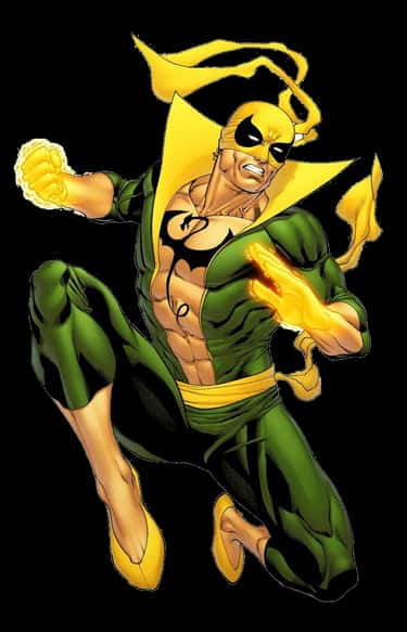 Iron Fist's Peripheral Vision- is listed (or ranked) 2 on the list The Most Impractical Superhero Costumes In Comics