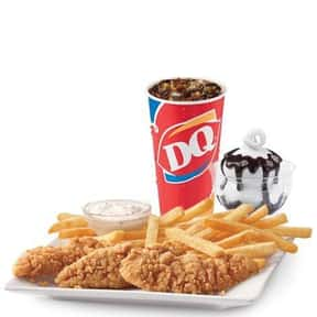 3-Pc. Chicken Strip Lunch is listed (or ranked) 2 on the list The Best Things To Eat At Dairy Queen, Ranked