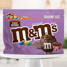 Fudge Brownie M&Ms is listed (or ranked) 8 on the list The Best Flavors of M&Ms