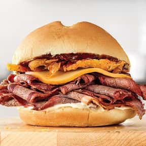 Smokehouse Brisket is listed (or ranked) 6 on the list The Best Things To Eat At Arby's, Ranked