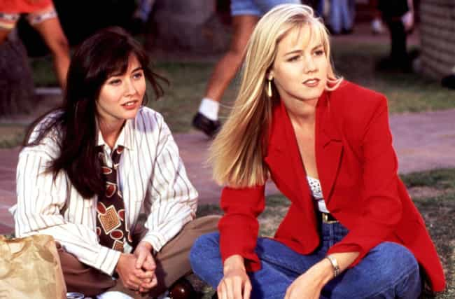 Jennie Garth And Shannen Doher... is listed (or ranked) 4 on the list TV Best Friends Who Hated Each Other In Real Life